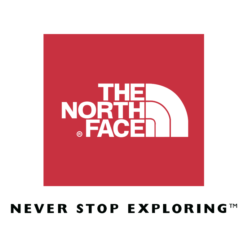 The North Face vector logo