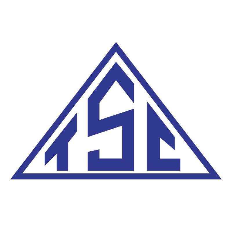 Triangulo Sport Club de Monte Alegre de Minas MG vector
