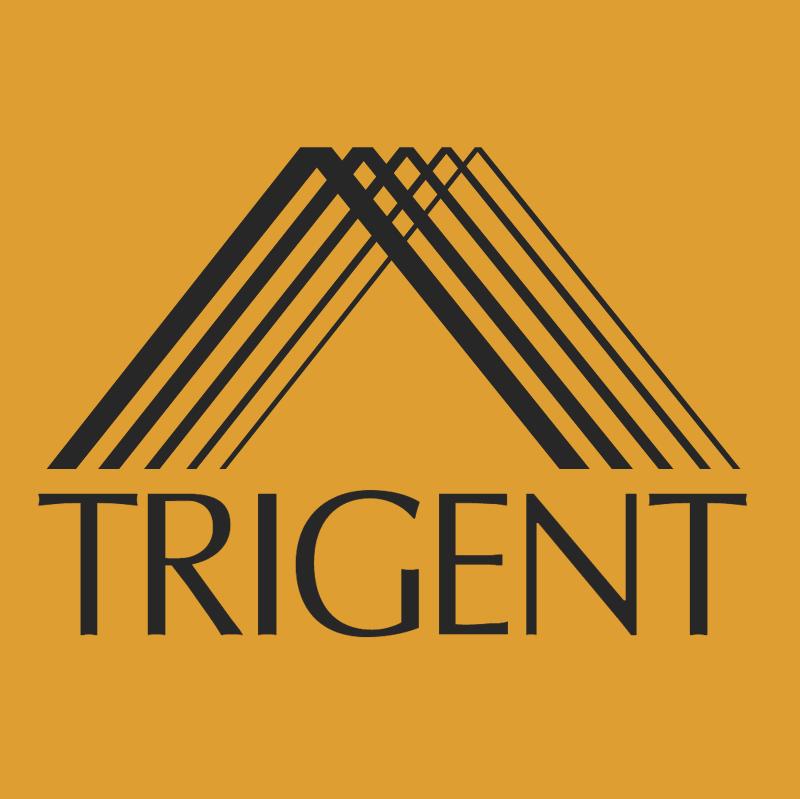 Trigent vector logo