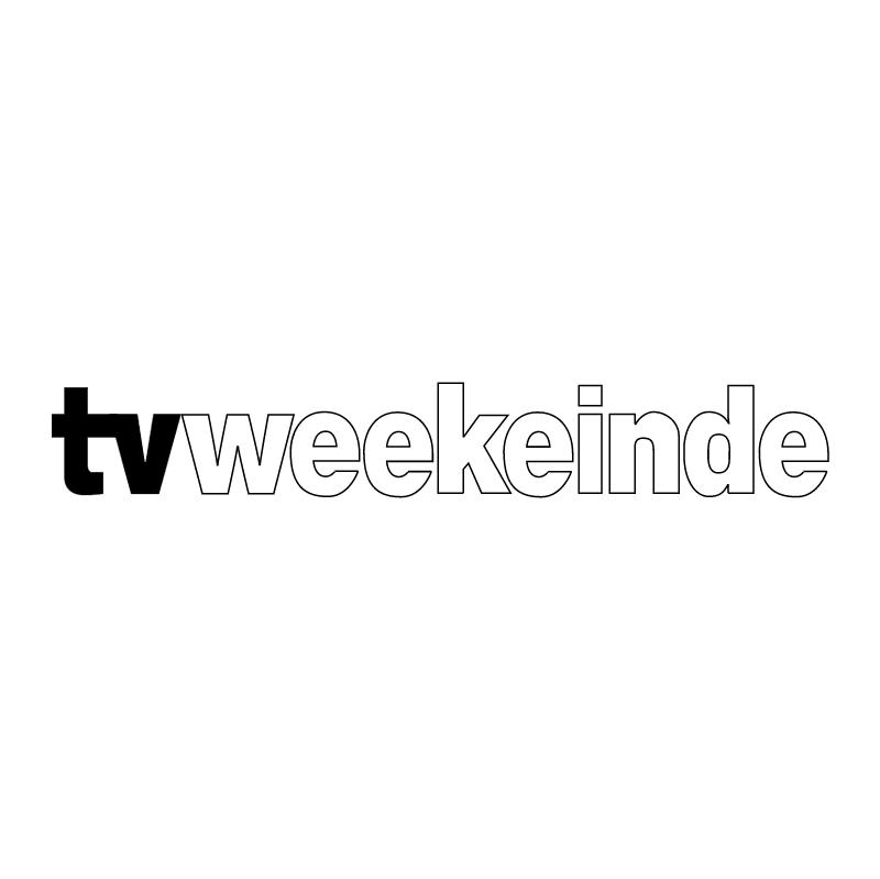 TVWeekeinde vector logo
