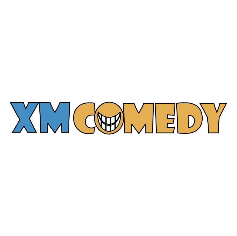 XM Comedy vector logo