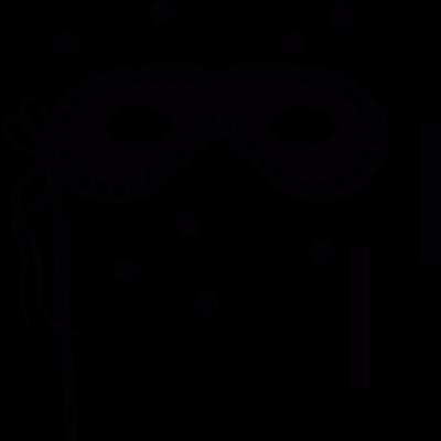 Carnival mask vector logo