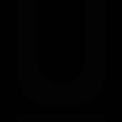 Underlined Button vector logo