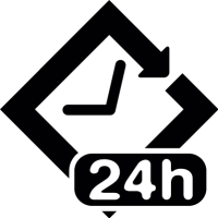 24 hour symbol vector