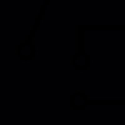 Circuit board vector logo