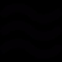 Wave lines vector