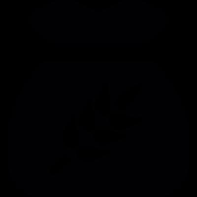 Wheat bag vector logo