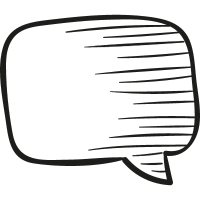 Draw Message Bubble vector