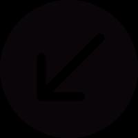 Down Arrow Button vector