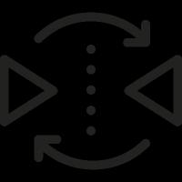 Reflection Symbol vector