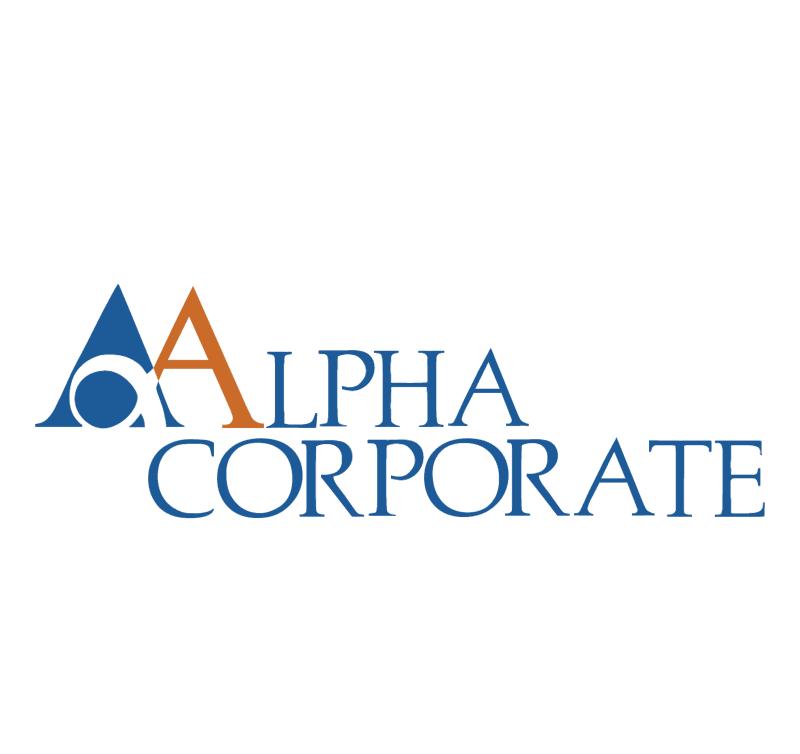 Alpha Corporate 74086 vector