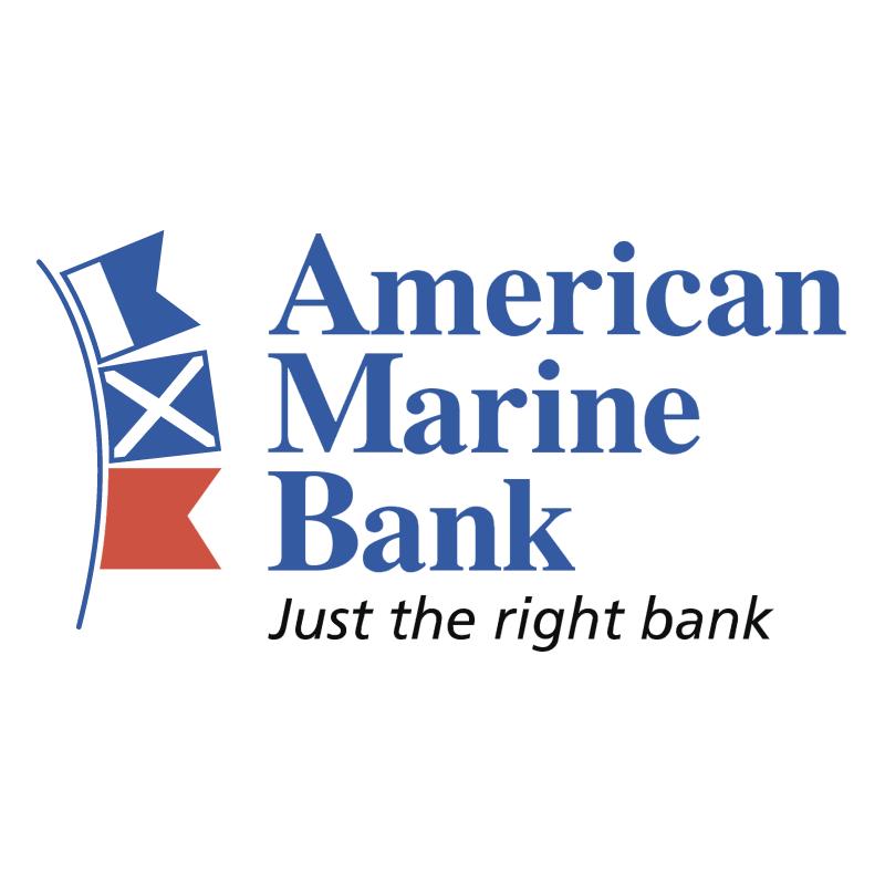 American Marine Bank vector