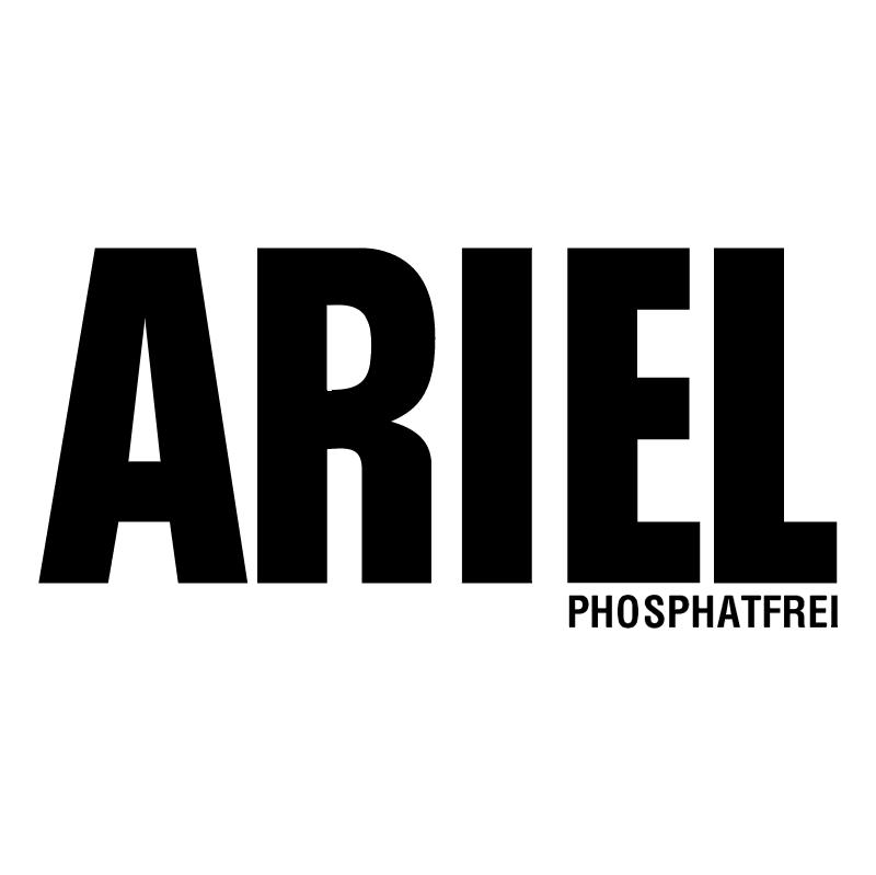 Ariel Phosphatfrei vector