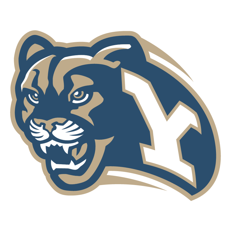 Brigham Young Cougars vector