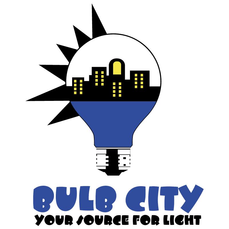 Bulb City vector