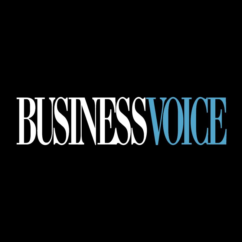 Business Voice vector logo