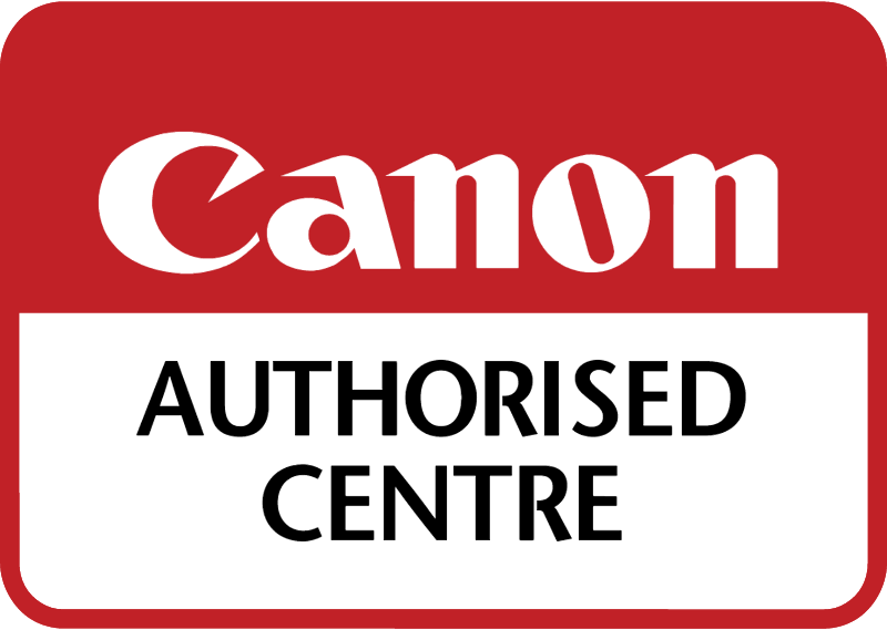 Canon Authorised Centre vector