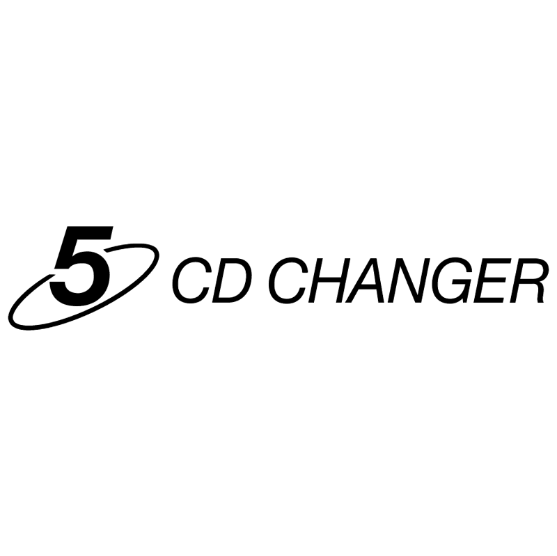 CD changer 5 vector