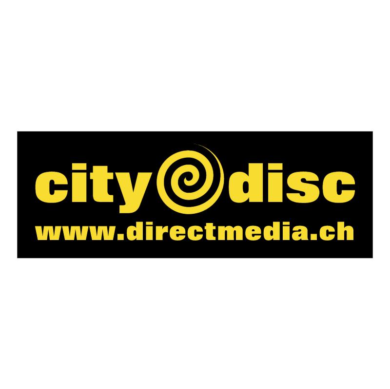 CityDisc vector