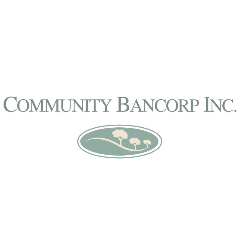 Community Bancorp vector