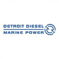 Detroit Diesel Marine Power vector