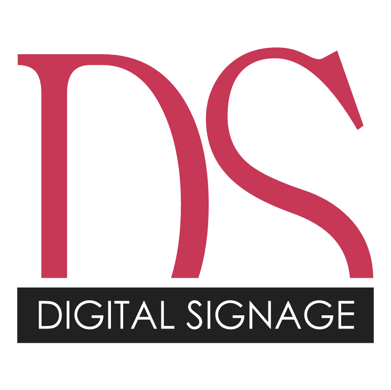 Digital Signage vector logo