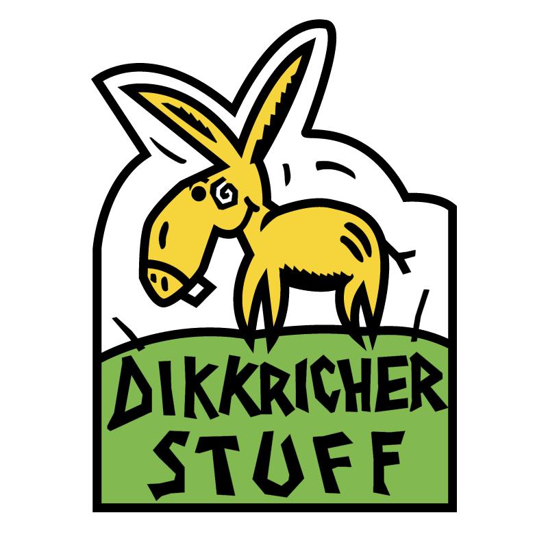 Dikkricher Stuff Luxembourg Diekirch vector logo