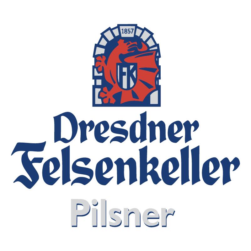 Dresdner Felsenkeller Pilsner vector