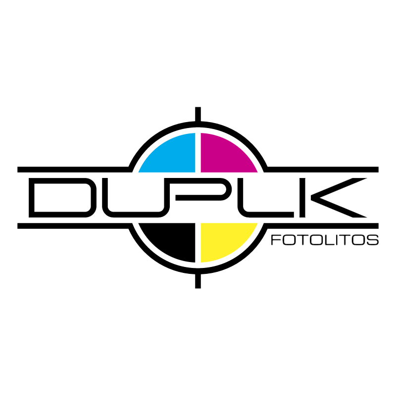 Duplik Fotolitos vector logo