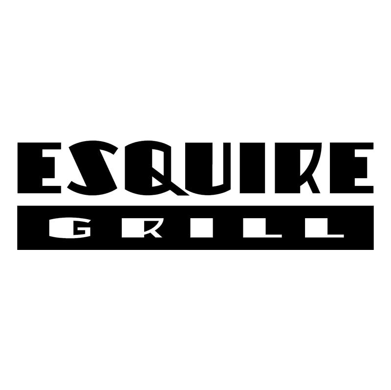 Esquire Grill vector