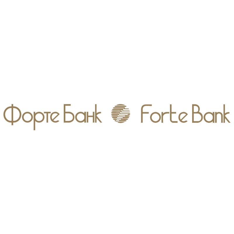 Forte Bank vector logo