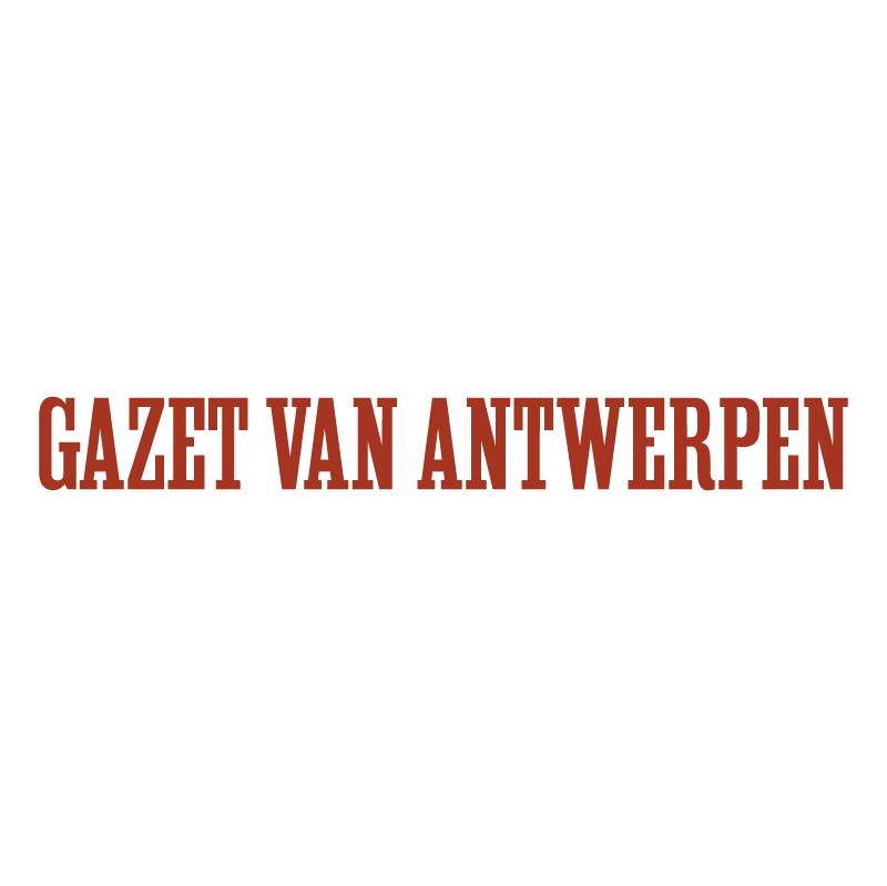 Gazet van Antwerpen vector