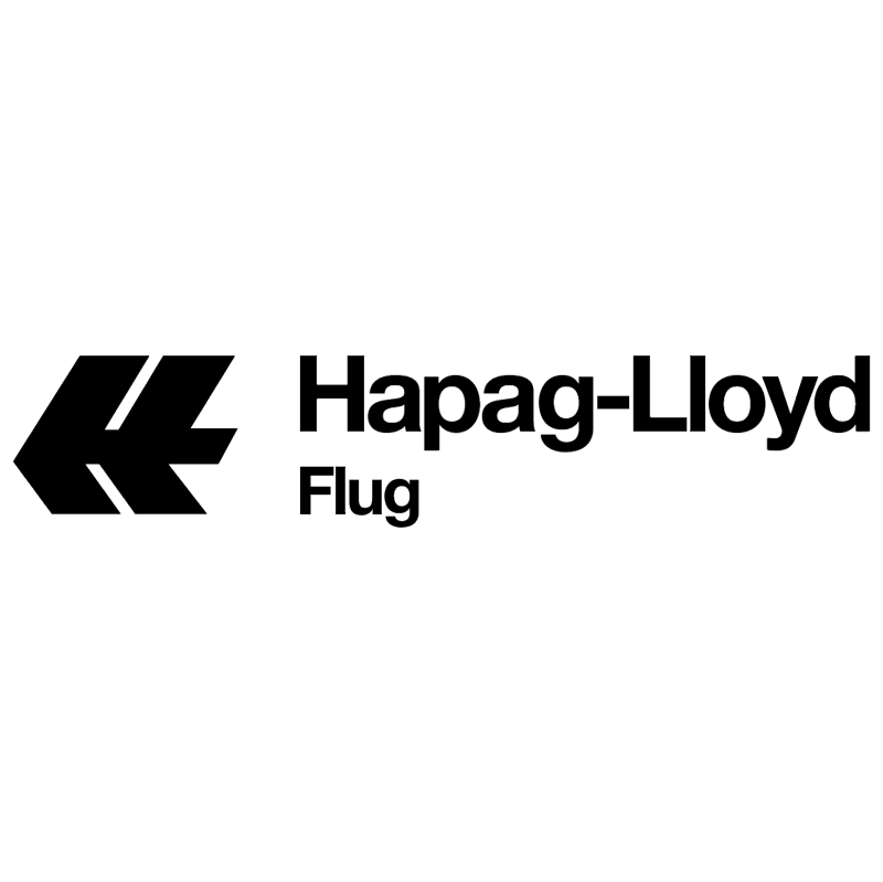 Hapag Lloyd Flug vector