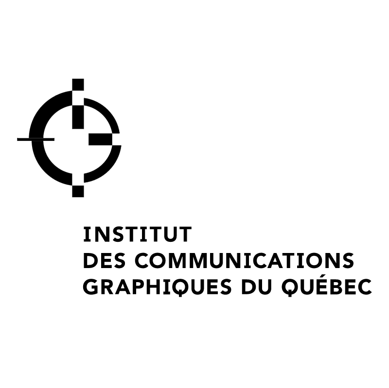Institut Des Communications Graphiques Du Quebec vector