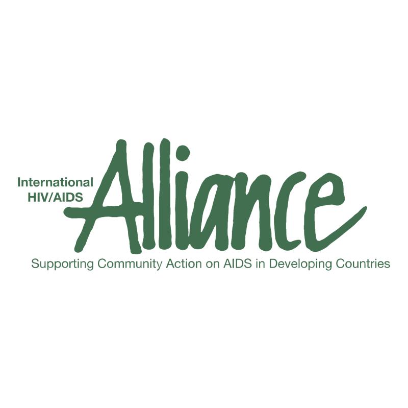 International HIV AIDS Alliance vector