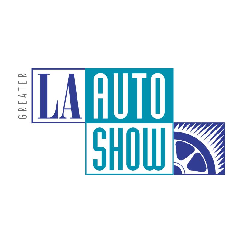 L A Auto Show vector