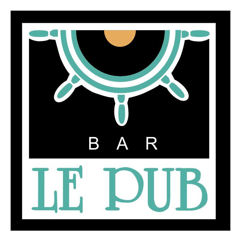 Le Pub vector