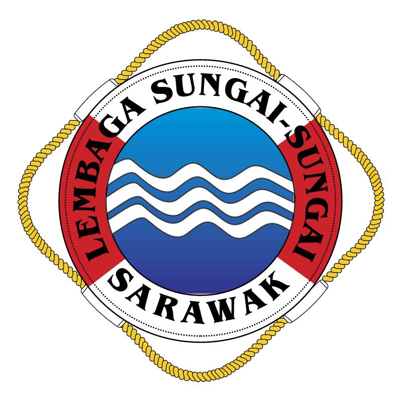 Lembaga Sungai Sungai Sarawak vector logo
