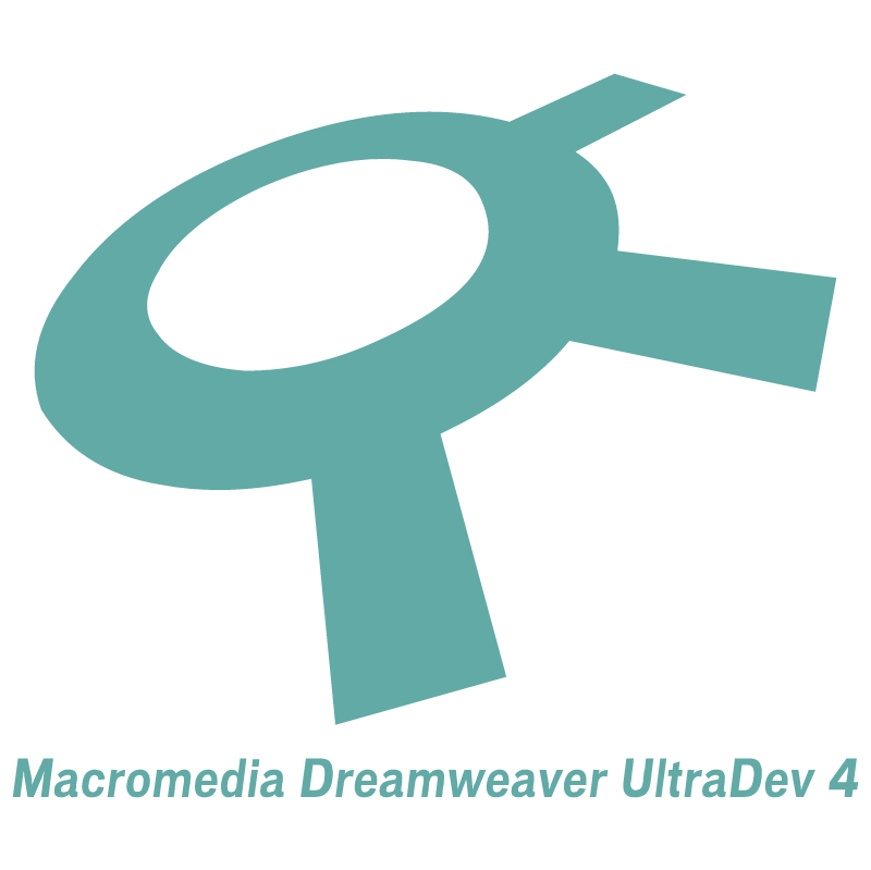 Macromedia Dreamweaver UltraDev 4 vector