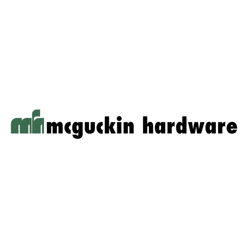 McGuckin Hardware vector logo