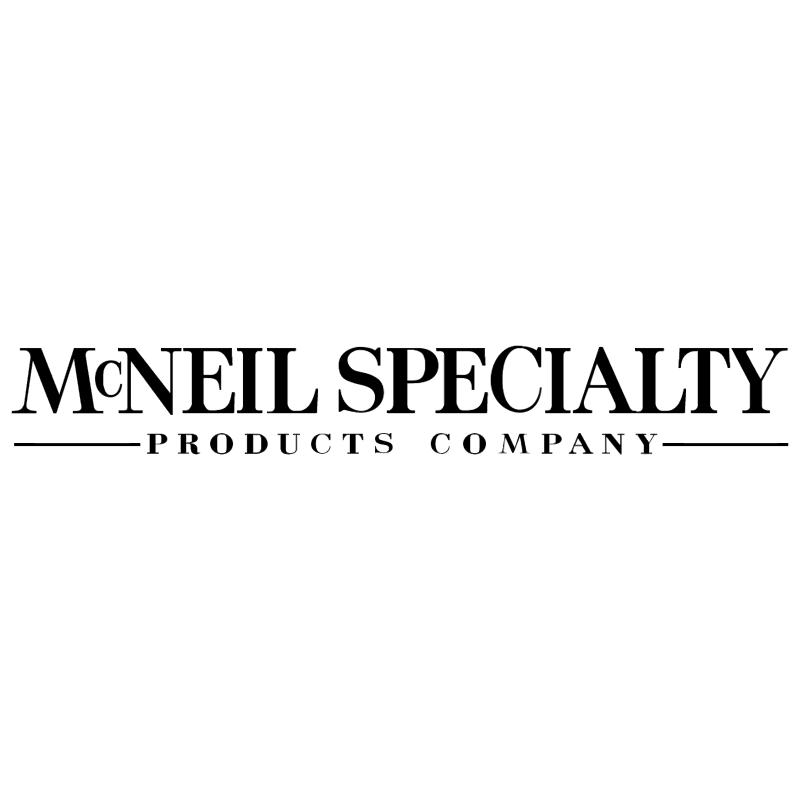 McNeil Specialty vector