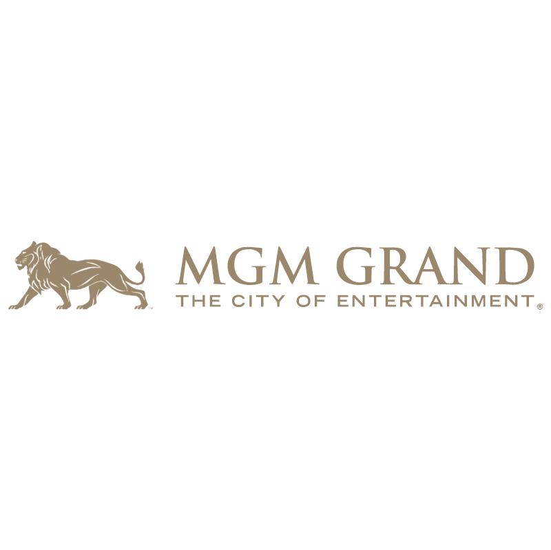 MGM Grand vector logo