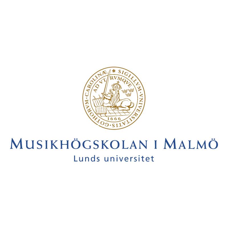 Musikhogskolan I Malmo vector