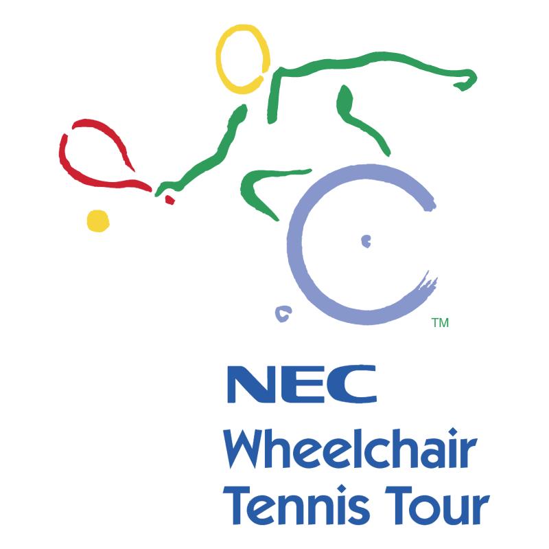 NEC Wheelchair Tennis Tour vector