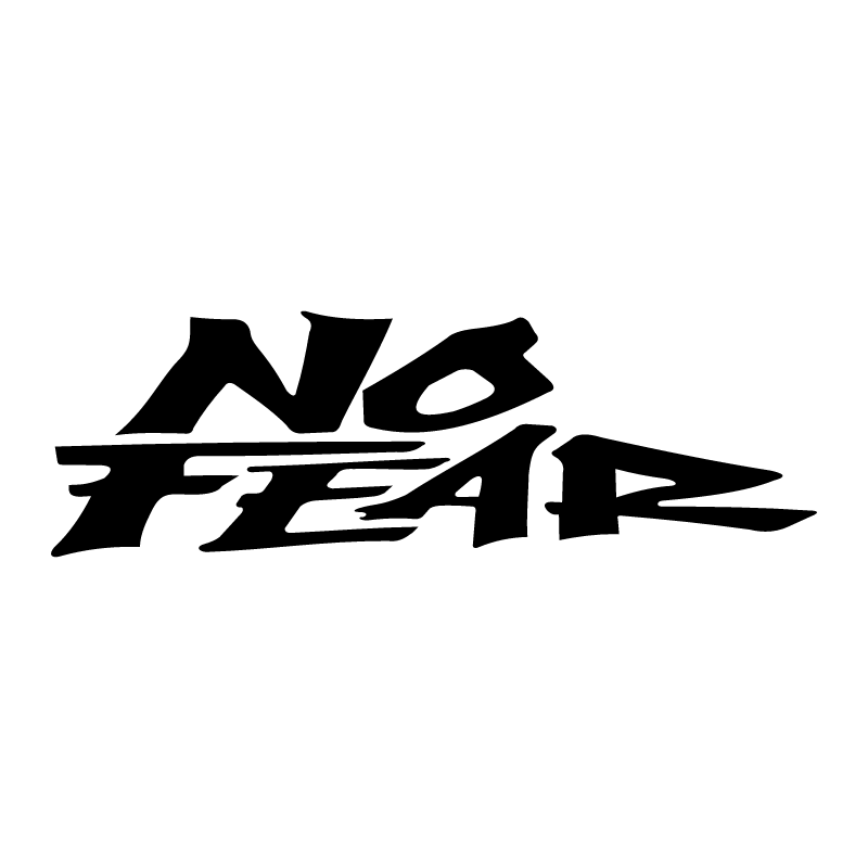 No Fear vector logo