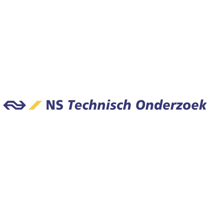 NS Technisch Onderzoek vector