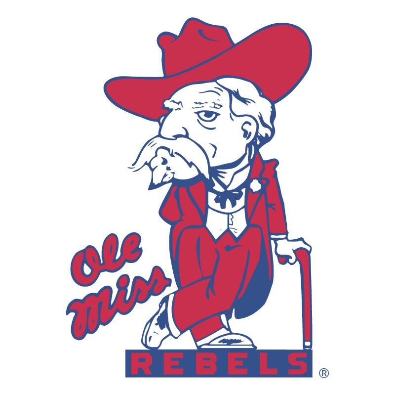 Ole Miss Rebels vector