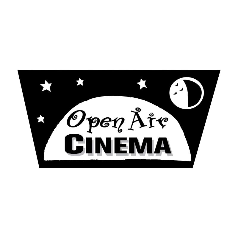 Open Air Cinema vector