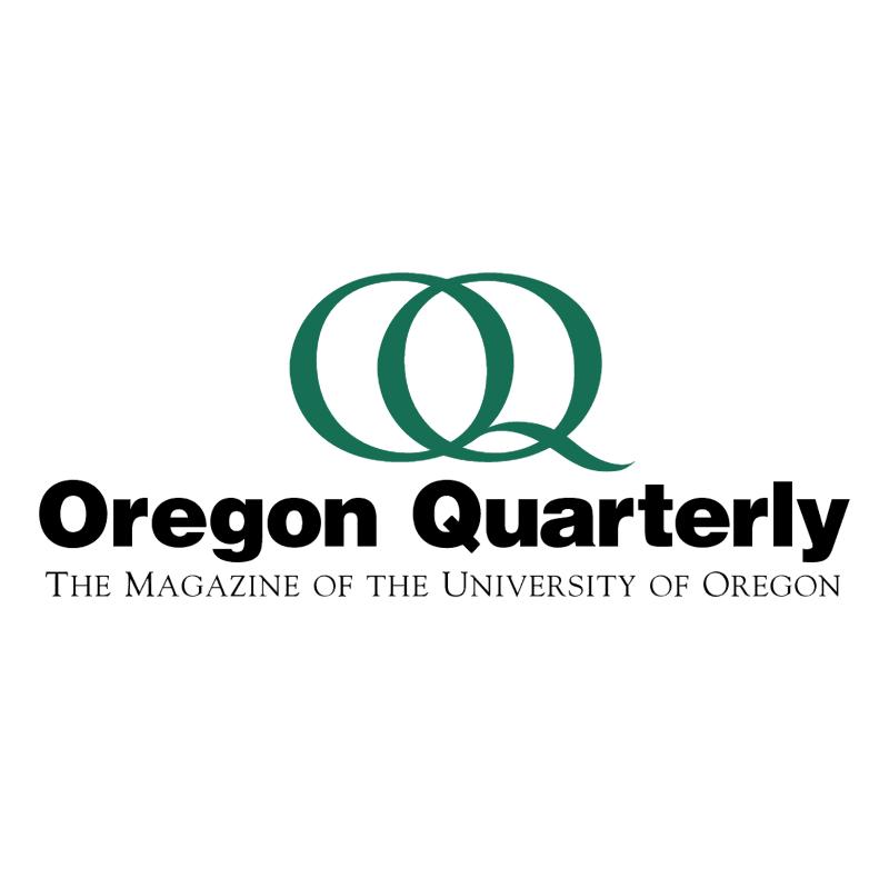 Oregon Quarterly vector