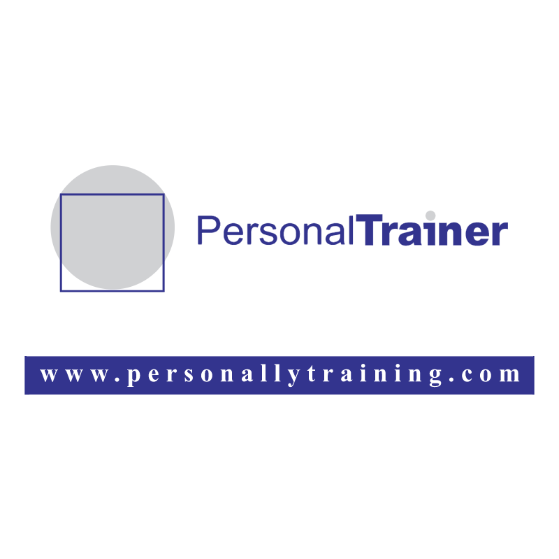 Personal Trainer vector logo